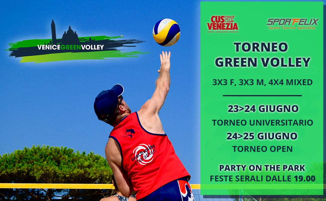 Iscriviti al Venice Green Volley