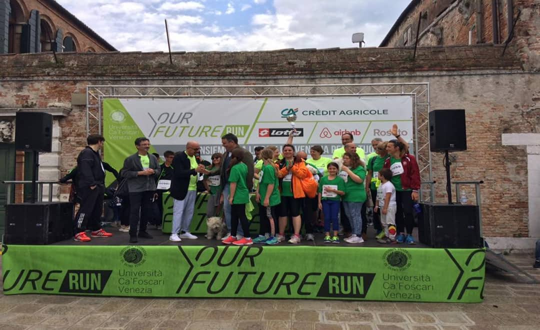 CUS Venezia premiato alla Y.our Future Run