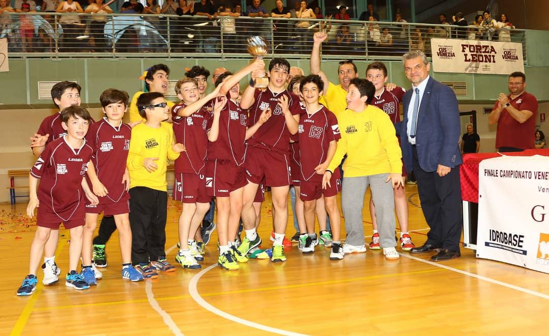 Idrobase CUS Venezia Campione Veneto Under 14 Maschile