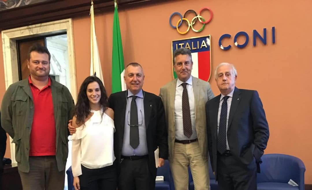 Petra Smaldore, studentessa di Ca' Foscari, premiata all'Assemblea CUSI di Roma