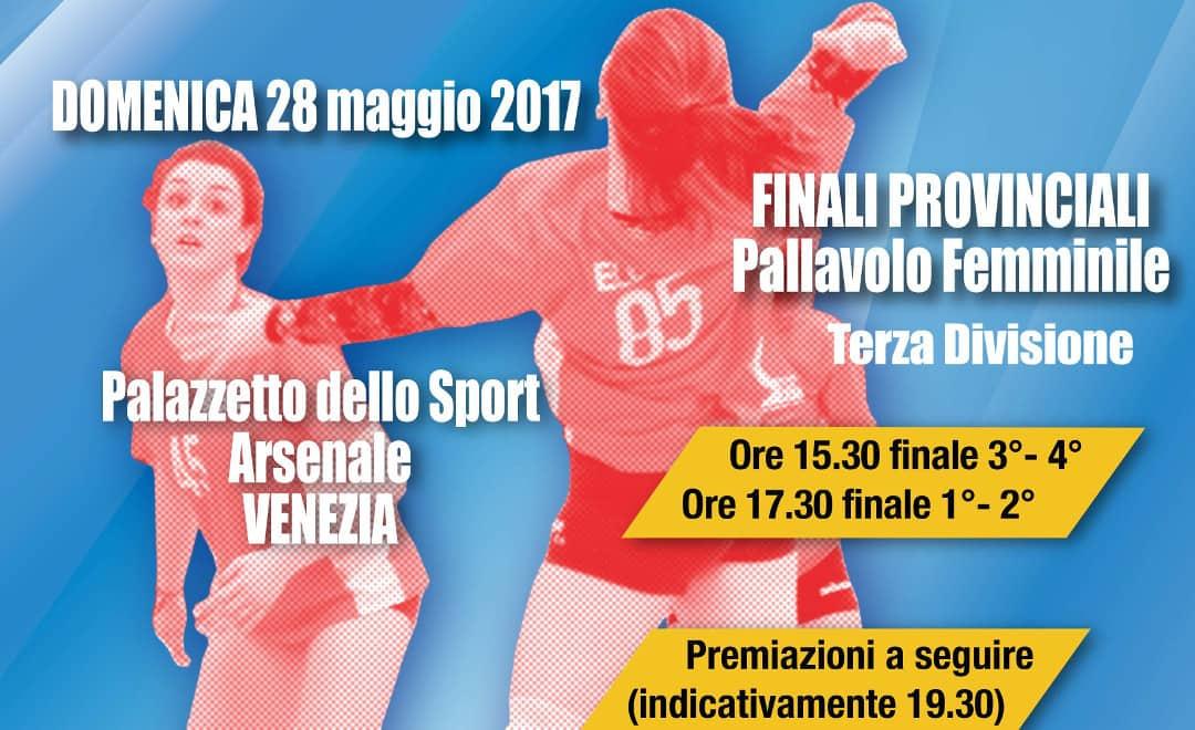 Finali Provinciali di Pallavolo Terza Divisione Femminile