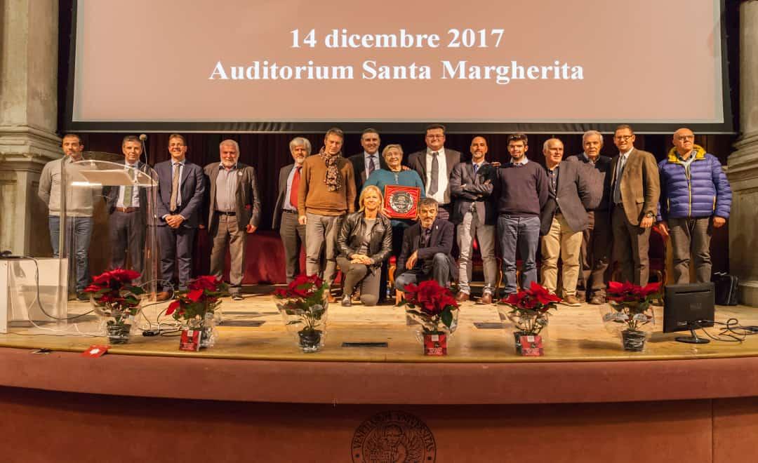 ALL'EX MONDIALE MARGHERITA DE CAL IL PREMIO SPORT E' CULTURA DEL CUS VENEZIA