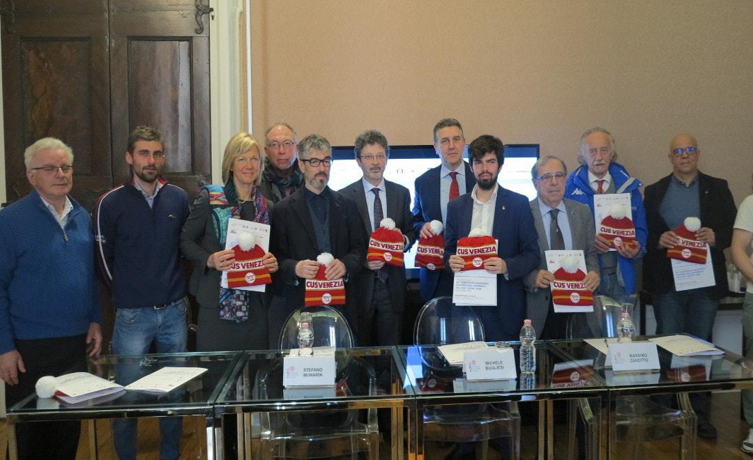 Presentati i Campionati Nazionali Universitari organizzati dal CUS Venezia!