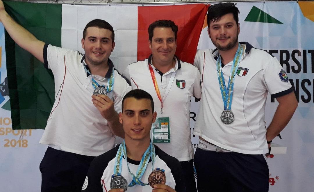 Medaglia d'argento ai mondiali universitari di tiro a segno per lo studente di Ca' Foscari Alberto Belluzzo