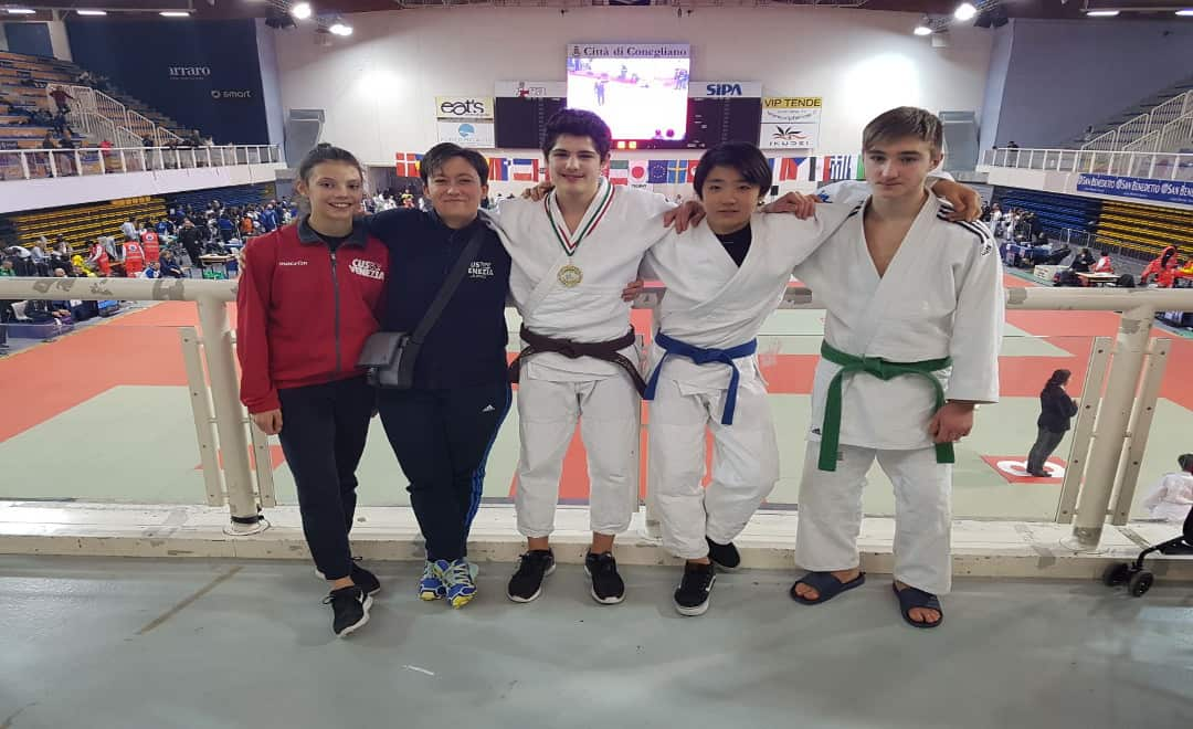 JUDO: ORO CUSSINO ALL'INTERNATIONAL TROPHY DI VITTORIO VENETO