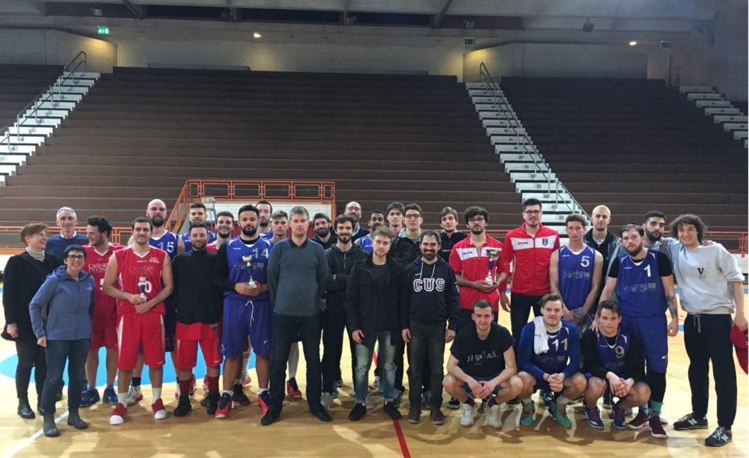 Il Cus Padova si aggiudica il Torneo Internazionale Universitario di basket