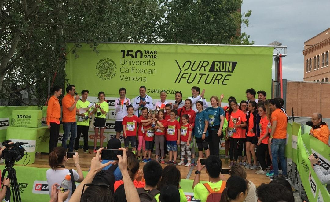 Il CUS si riconferma come gruppo più numeroso alla Your Future Run