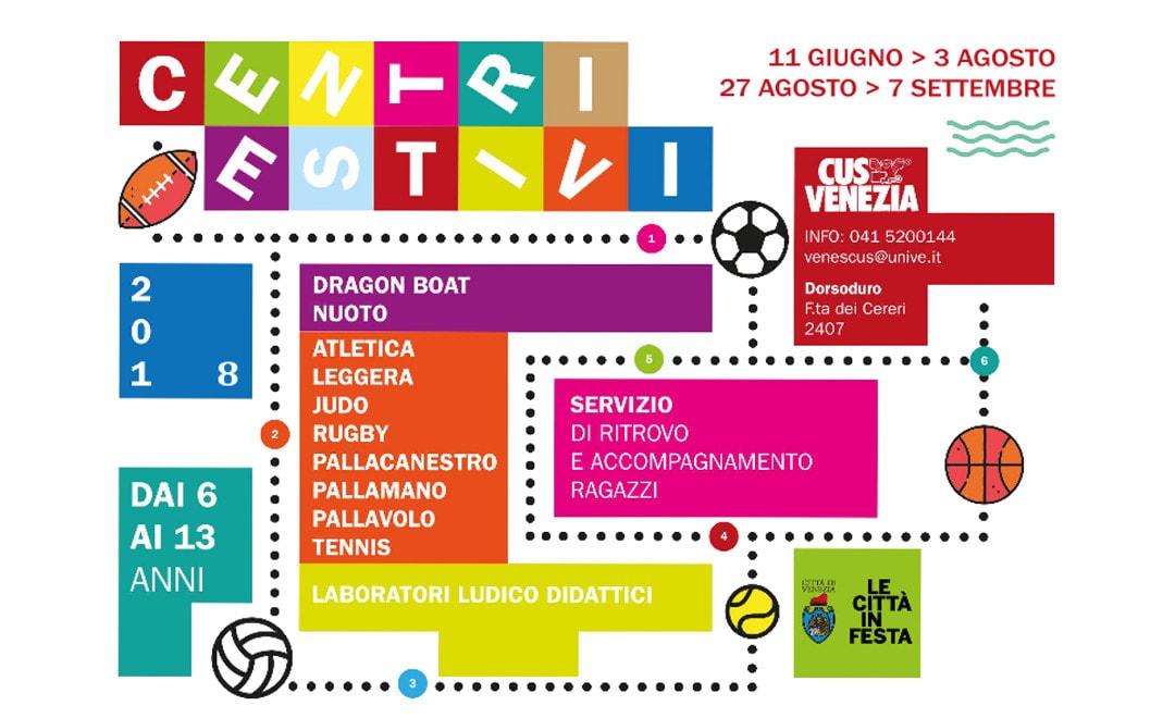 Dall'11 giugno ripartono i Centri Estivi del CUS Venezia