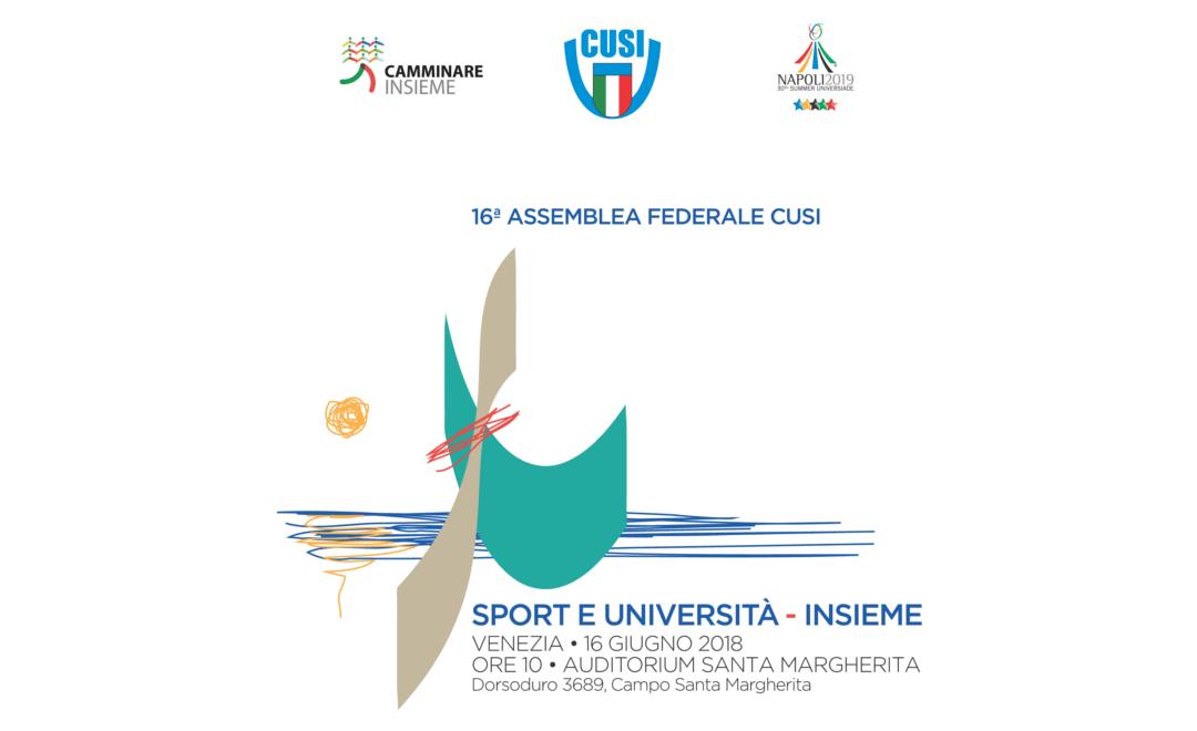 A Venezia l'assemblea nazionale dello sport universitario