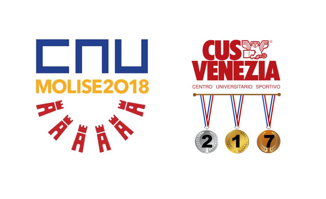 CNU PRIMAVERILI 2018: CUS VENEZIA TRA I MIGLIORI