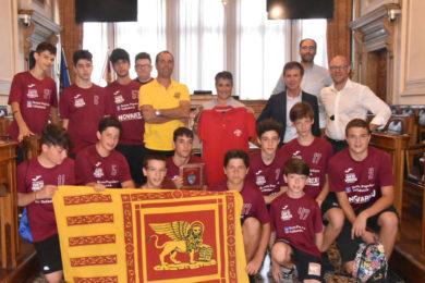 Under 15 a Ca' Farsetti 5-7-18web