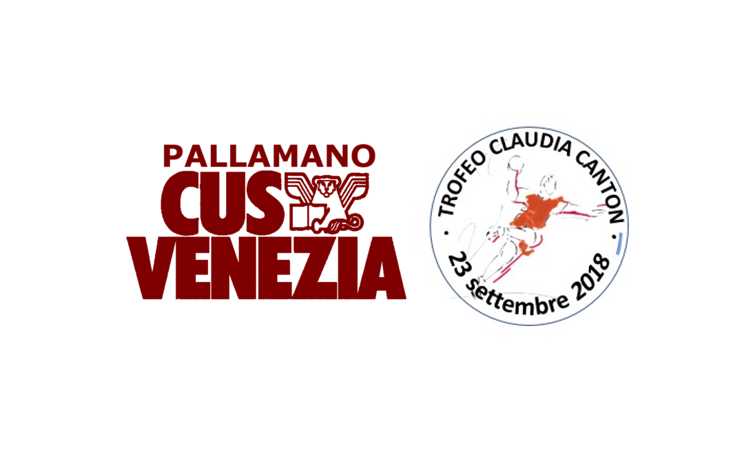 "Pallamano: Domenica, TROFEO "" CLAUDIA CANTON"" – 1° TORNEO ""MAREMONTI"" al palacus"