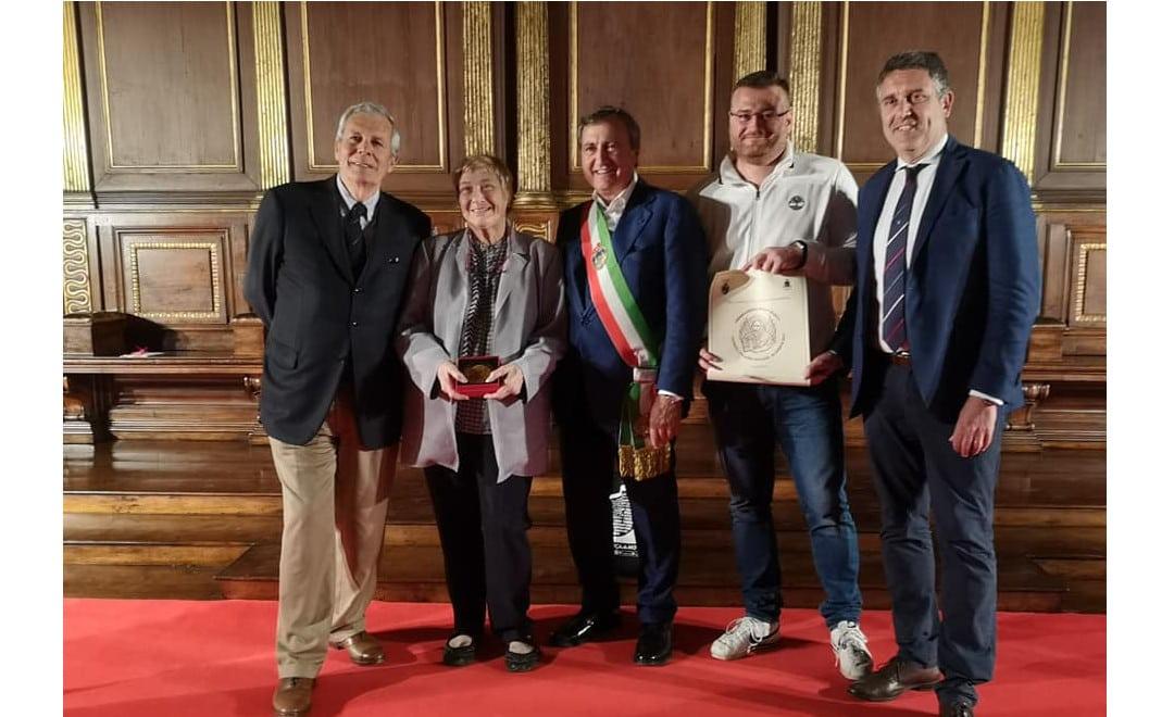 A Palazzo Ducale il Sindaco Brugnaro premia il CUS Venezia per i 70 anni di attività