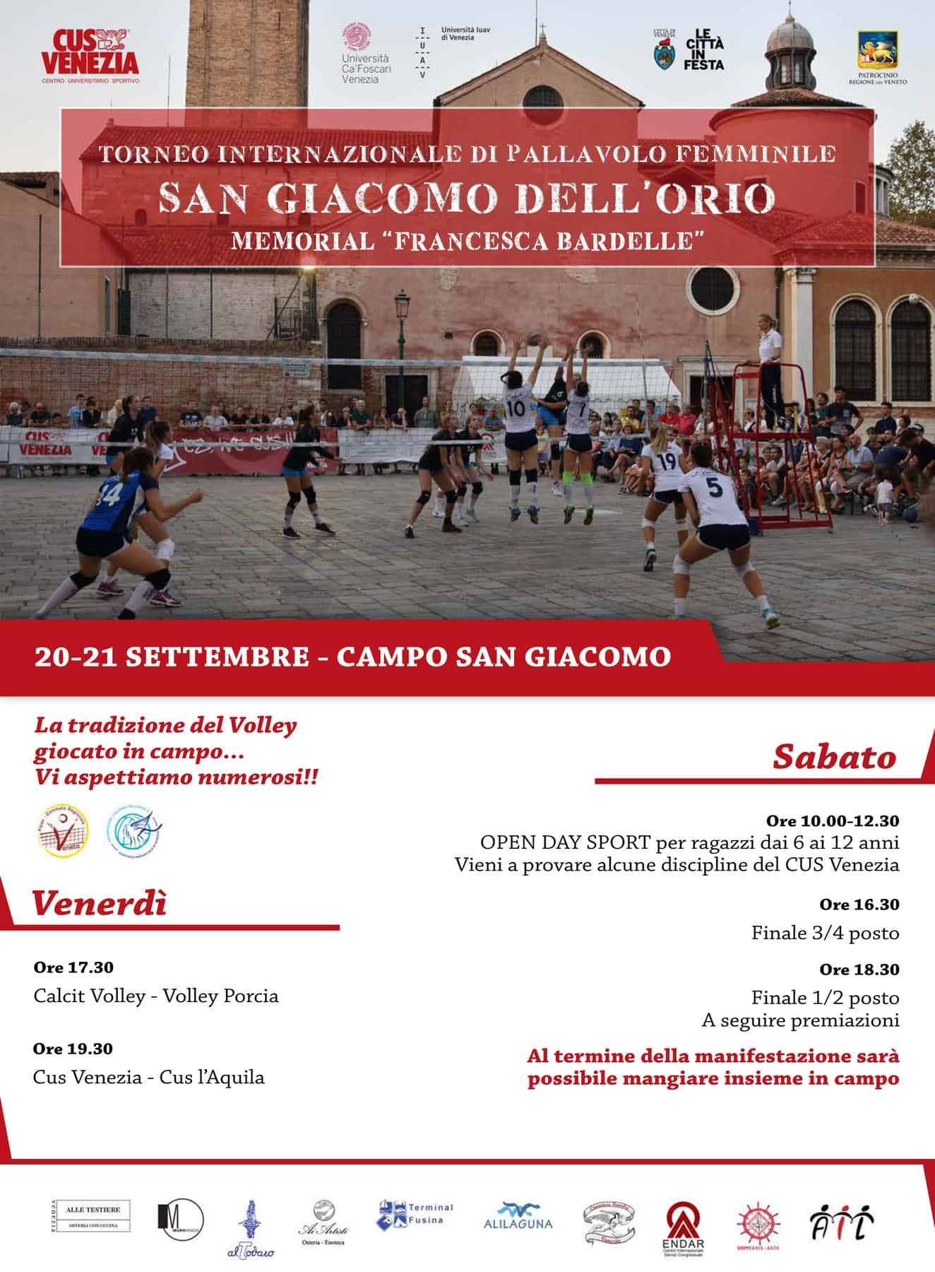 Torneo Internazionale di pallavolo San Giacomo dell'Orio