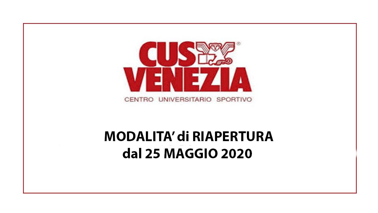 Riapertura Impianti sportivi universitari dal 25 Maggio